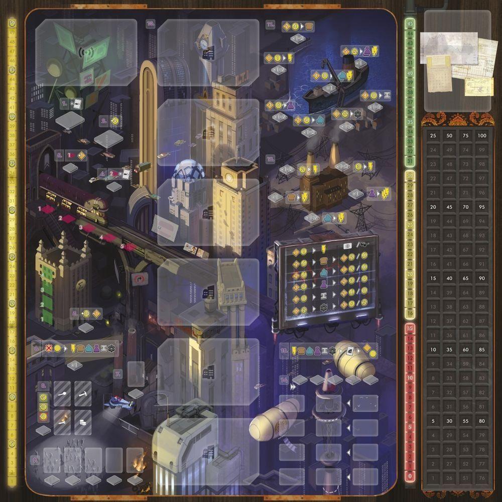 Crisis game board