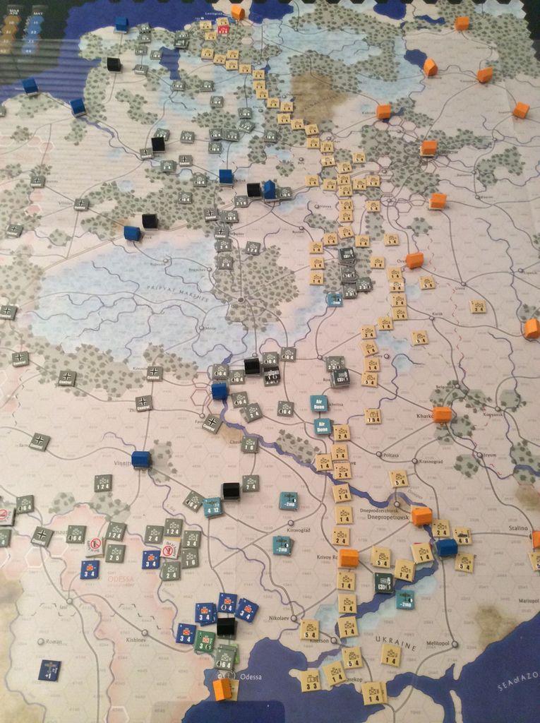 The Dark Valley gameplay