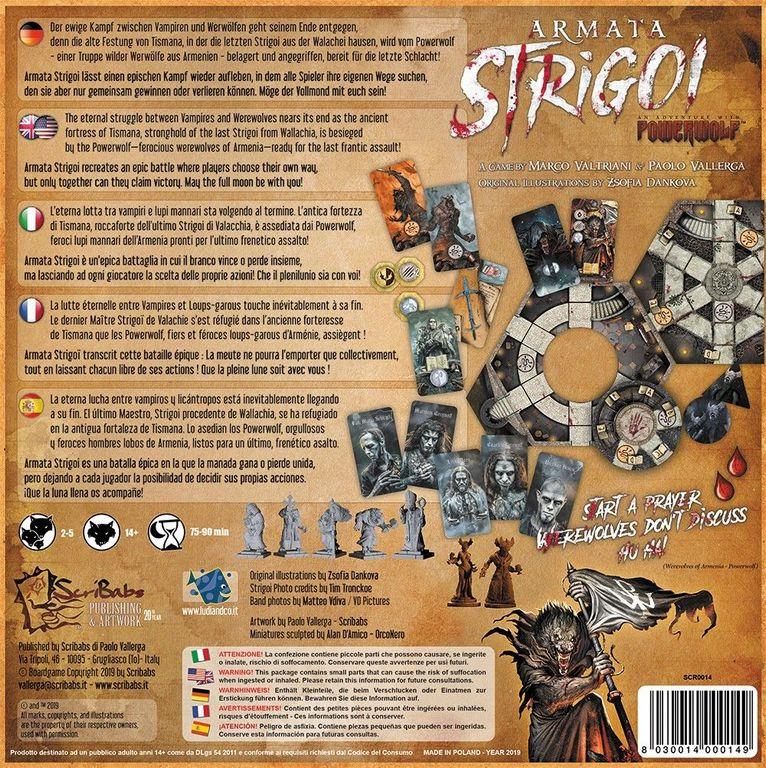 Armata Strigoi back of the box