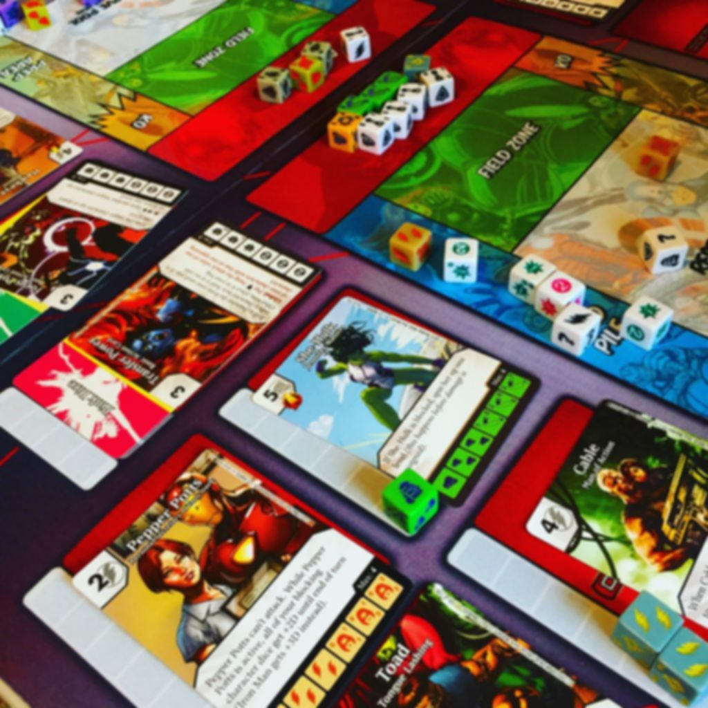 Marvel Dice Masters: Age of Ultron gameplay