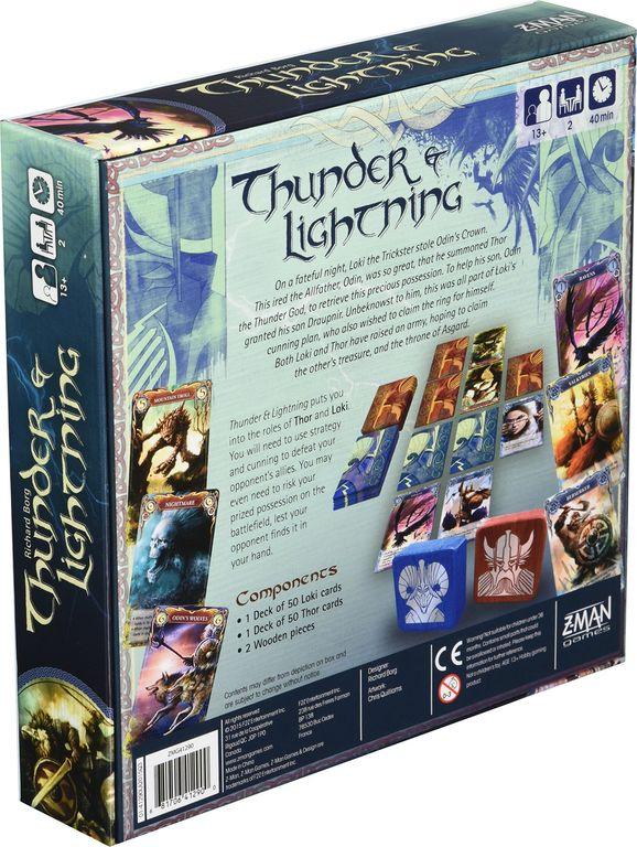 Thunder & Lightning back of the box