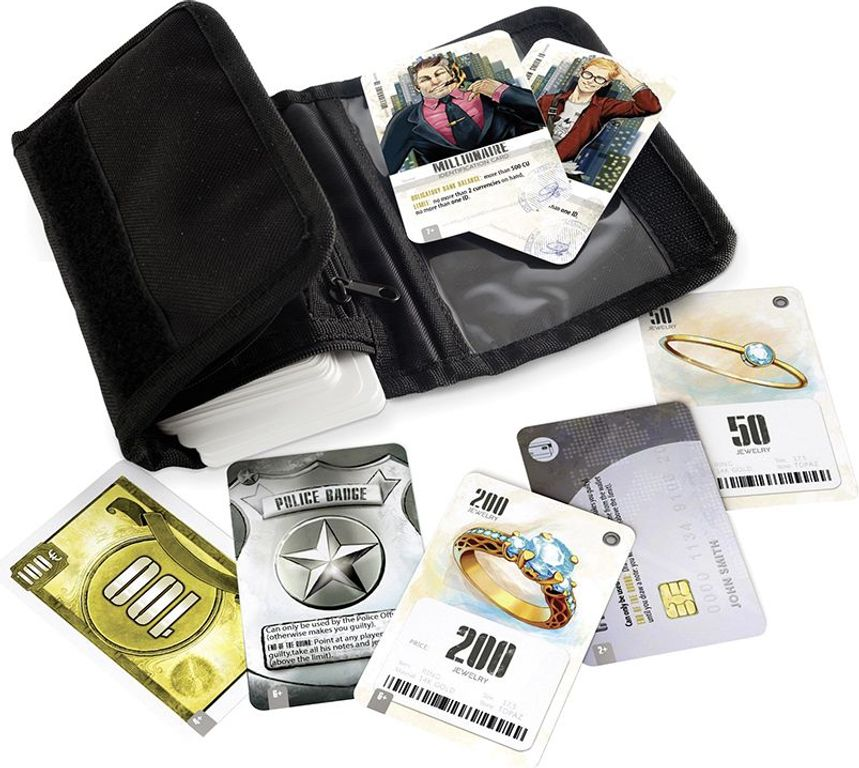 Wallet components