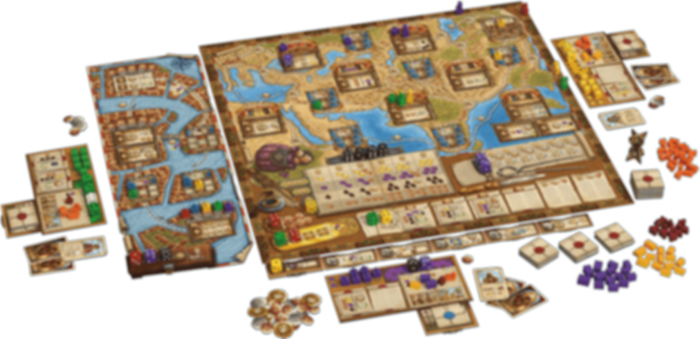 The Voyages of Marco Polo: Agents of Venice gameplay