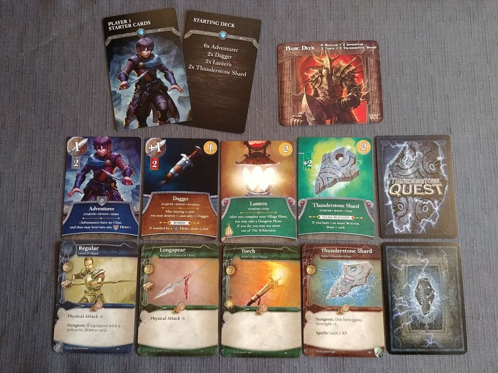Thunderstone Quest cards