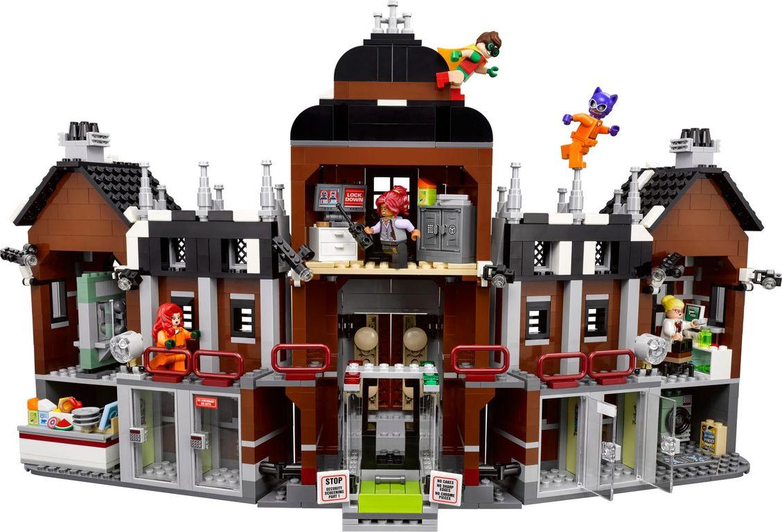 LEGO® Batman Movie Arkham Asylum back side