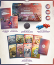Cerebria: The Card Game components