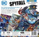 DC Spyfall back of the box