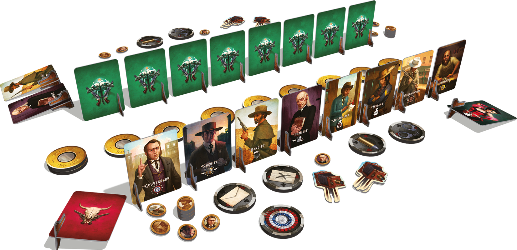 Outlaws: Last Man Standing components