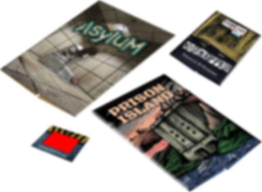 Escape Room: The Game - 2 Players components
