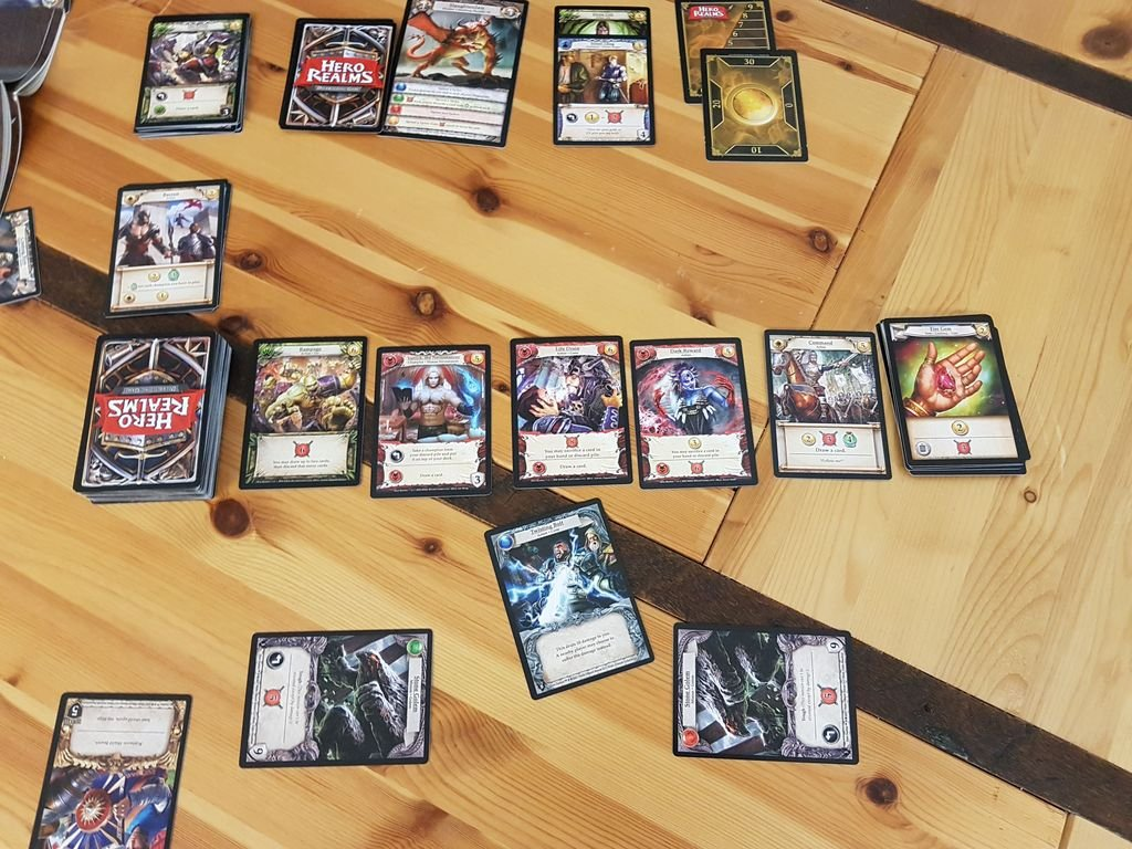 Hero Realms: The Ruin of Thandar Campaign Deck cards