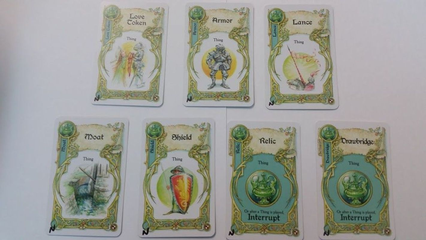 Once Upon a Time: Knightly Tales cards