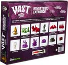 Vast: The Crystal Caverns - Miniatures Pack back of the box