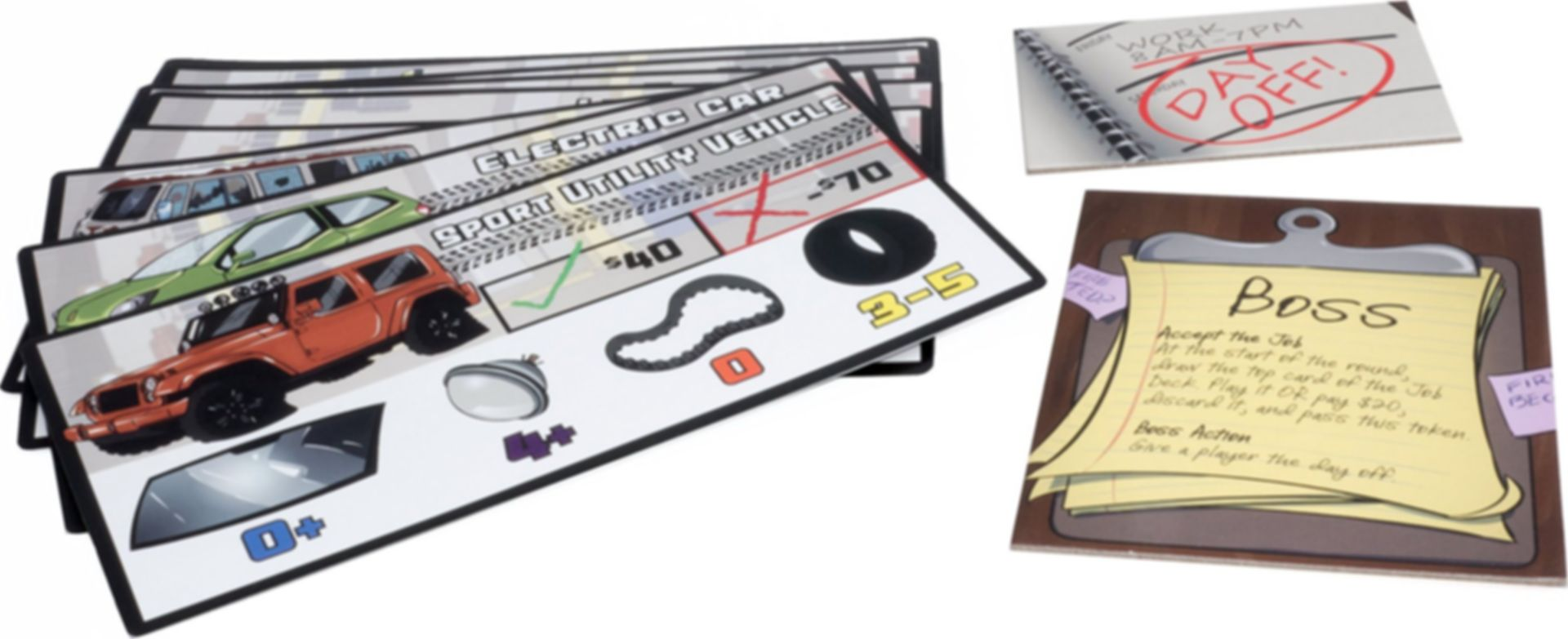 Traitor Mechanic: The Traitor Mechanic Game components
