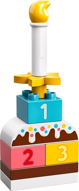 LEGO® DUPLO® Birthday Cake components