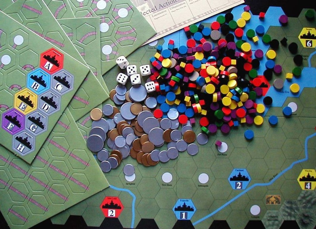 Age of Steam components