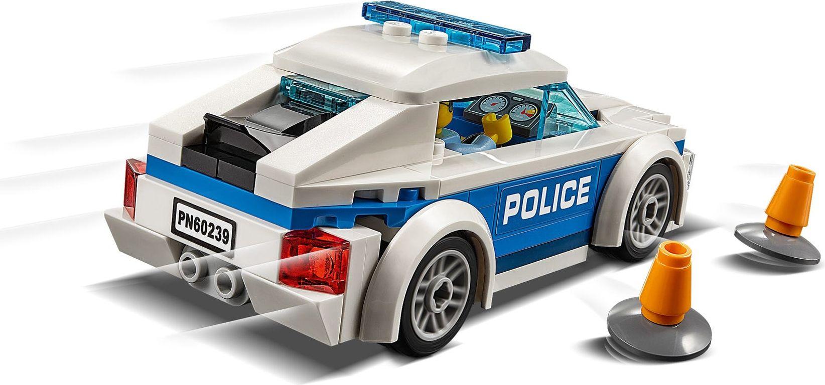 LEGO® City Patrol Car back side