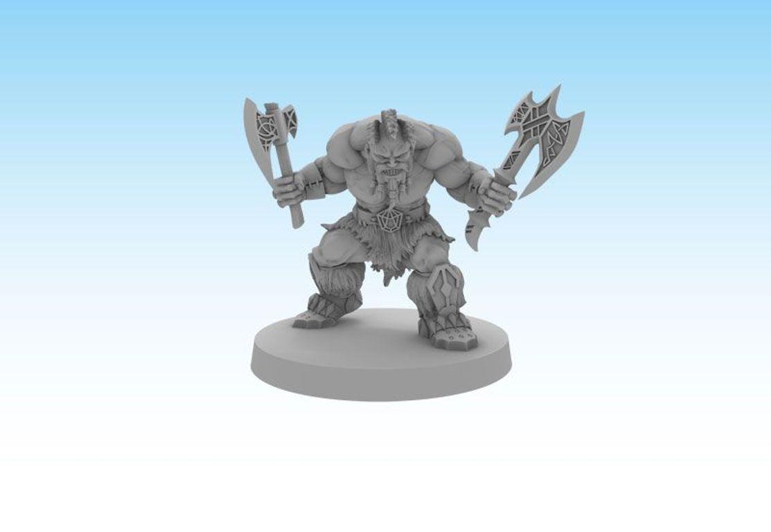 Sword & Sorcery: Hero Pack - Skeld Slayer/Berserker miniature