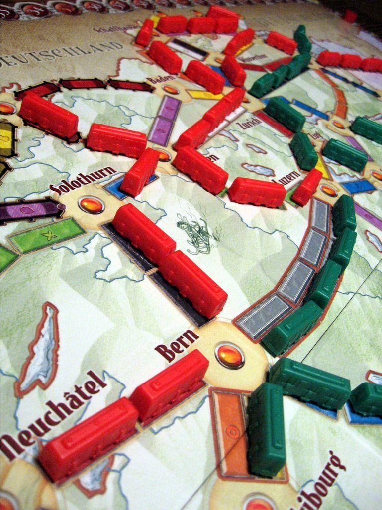 Ticket to Ride: Switzerland speelwijze