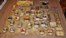 Rex: Final Days of an Empire game board