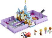 LEGO® Disney Anna and Elsa's Storybook Adventures components
