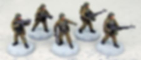 "Dust Tactics: SSU Battle Squad - ""Frontoviki"" miniatures"