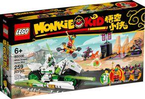 LEGO® Monkie Kid White Dragon Horse Bike