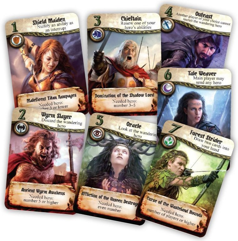 Rent a Hero cards
