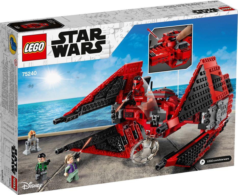 LEGO® Star Wars Major Vonreg's TIE Fighter™ back of the box
