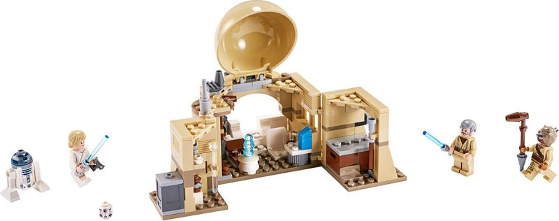 LEGO® Star Wars Obi-Wan's Hut components