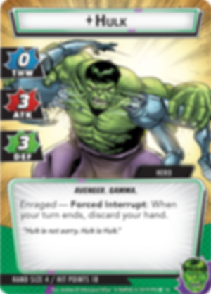 Marvel Champions: The Card Game - Hulk Hero Pack Hulk card