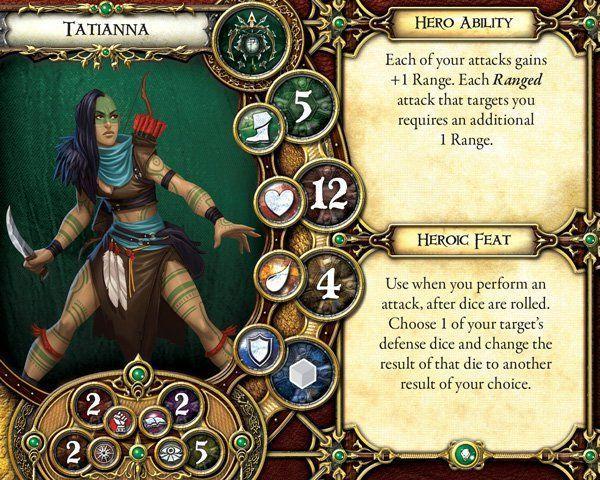 Descent: Journeys in the Dark (Second Edition) - Stewards of the Secret carte