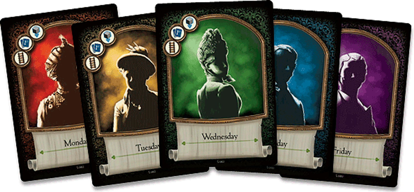 A Study in Emerald (second edition) cards