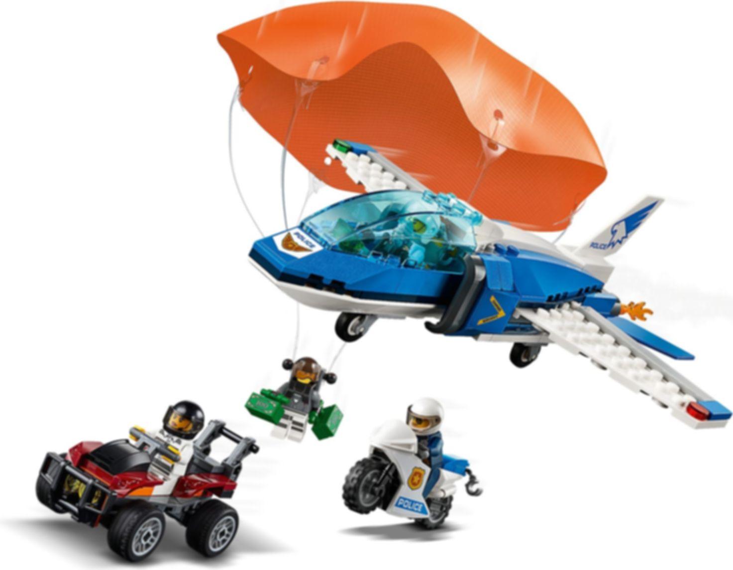 Sky Police Parachute Arrest gameplay