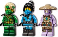 LEGO® Ninjago Lloyd's Jungle Chopper Bike minifigures