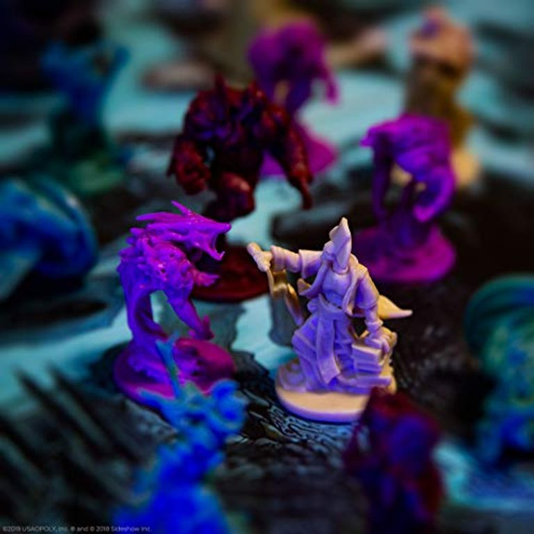 Court of the Dead: Mourners Call miniatures