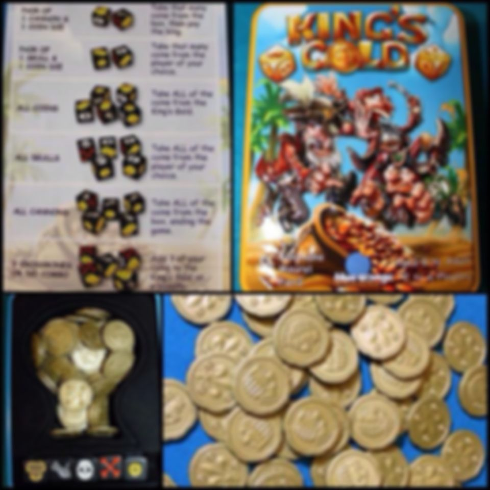 King's Gold components