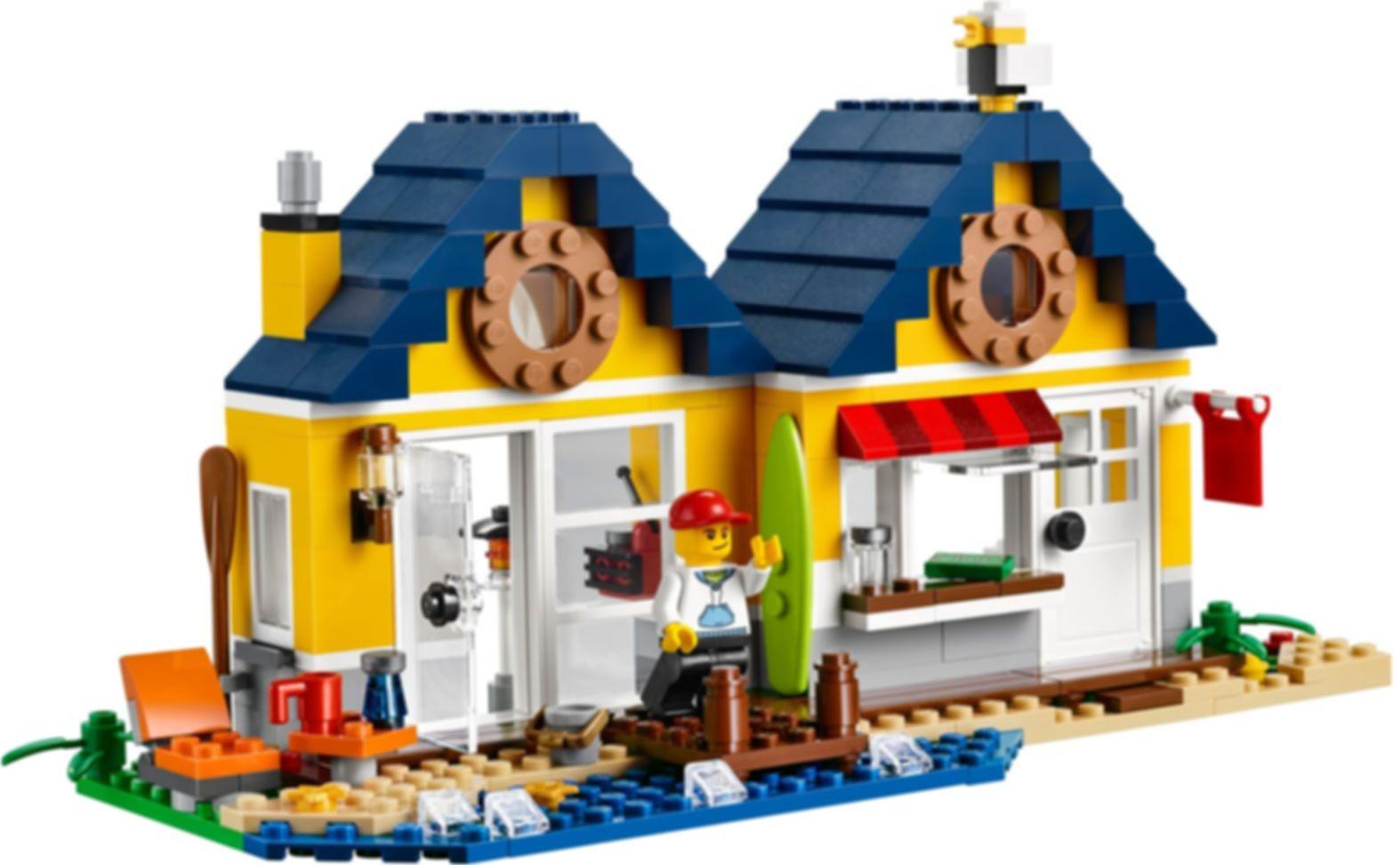 LEGO® Creator Beach Hut components