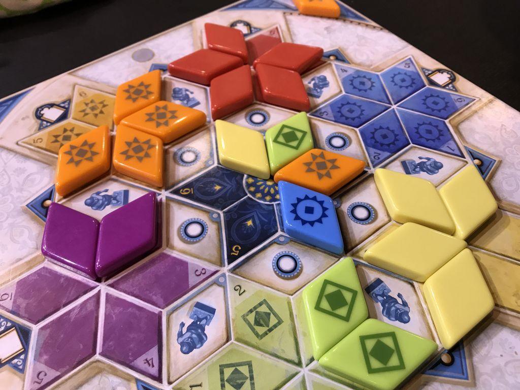 Azul: Summer Pavilion gameplay