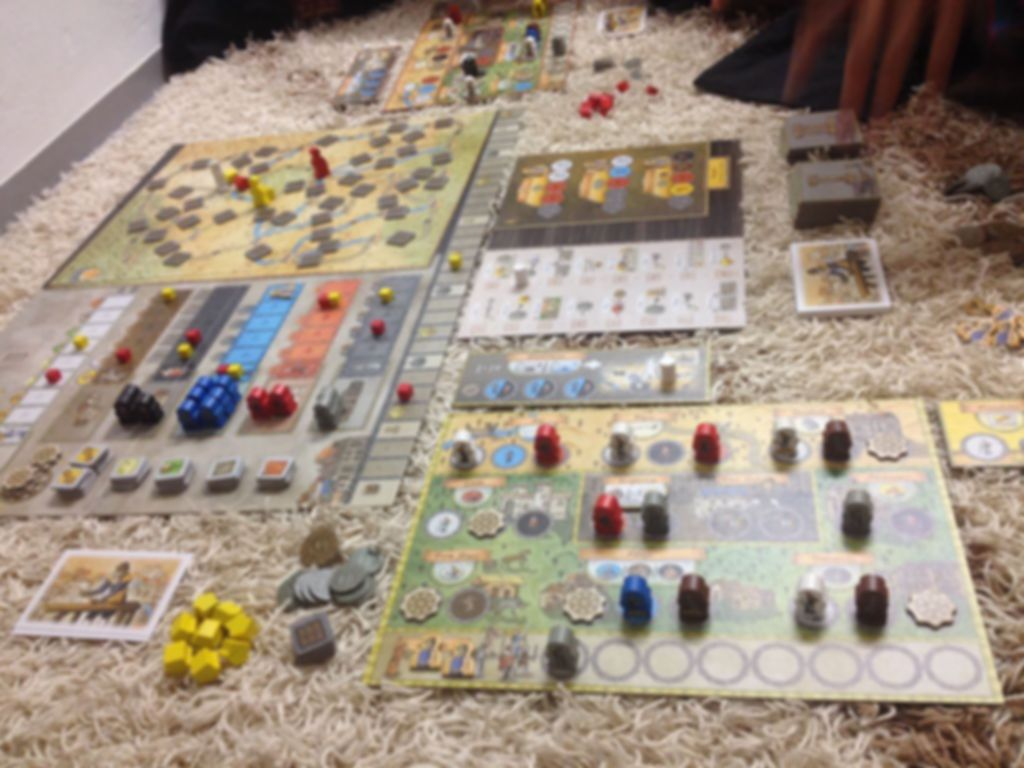 Orléans: Invasion gameplay