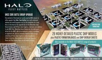 Halo: Fleet Battles - UNSC Core Battle Group Upgrade