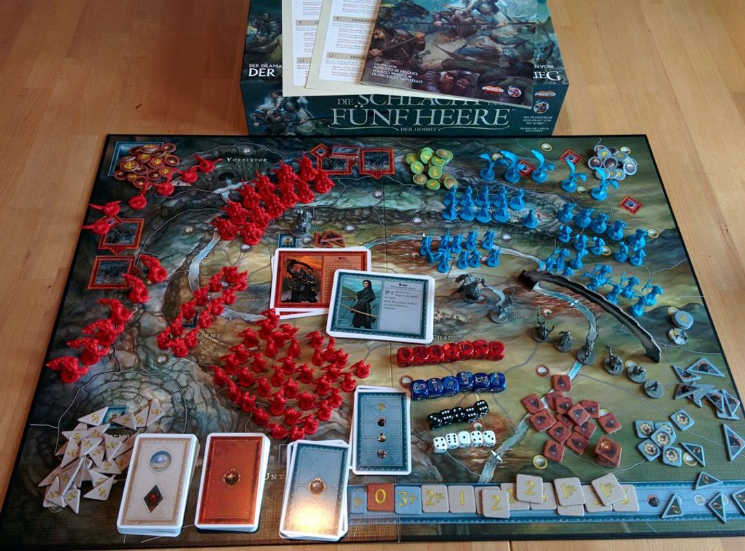 The Battle of Five Armies components