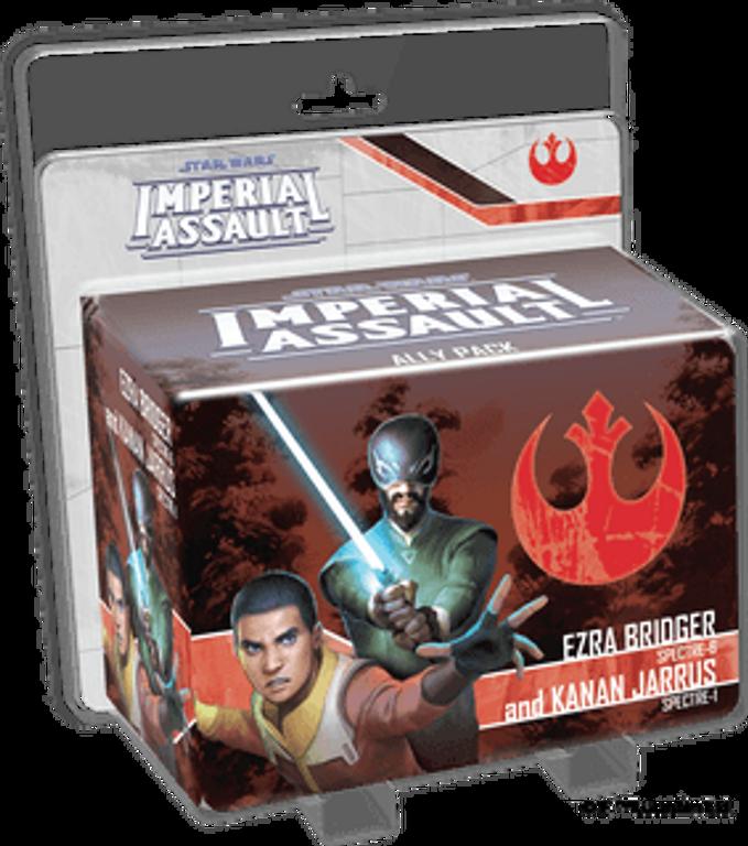 Star Wars: Imperial Assault – Ezra Bridger and Kanan Jarrus Ally Pack