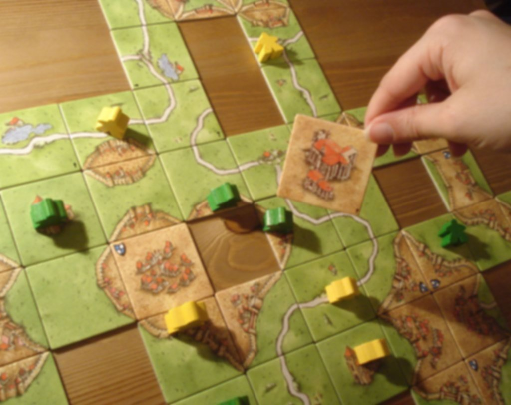 Carcassonne: Inns and Cathedrals gameplay