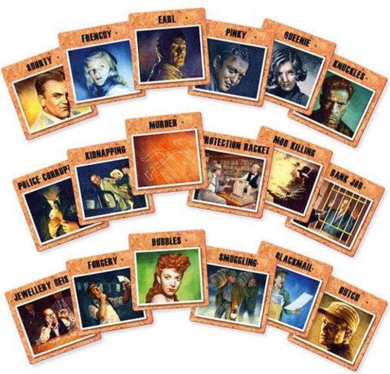 P.I. cards