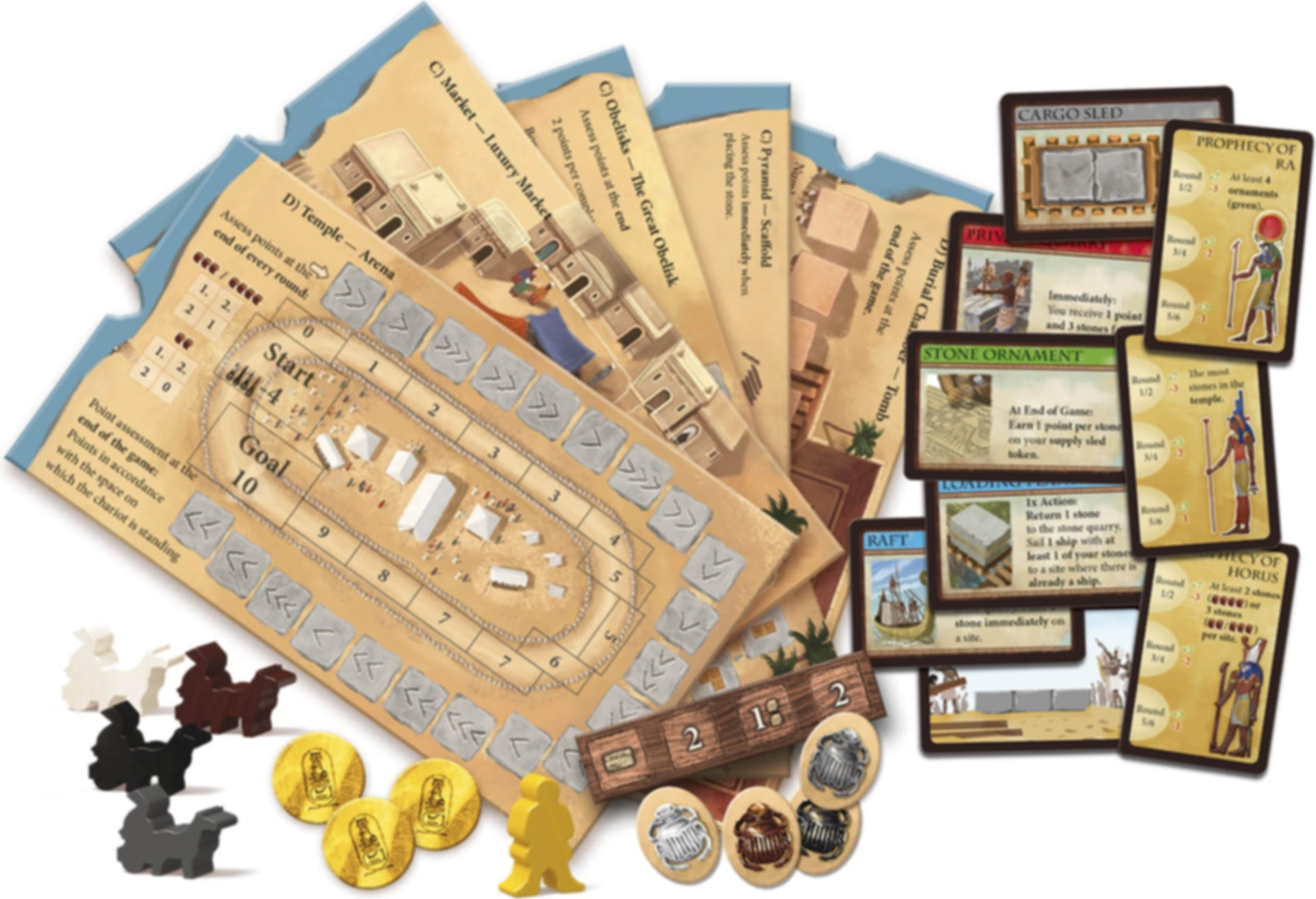 Imhotep: A New Dynasty components