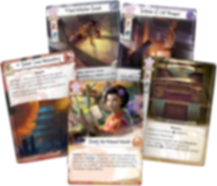 Legend of the Five Rings: In Pursuit of Truth cards