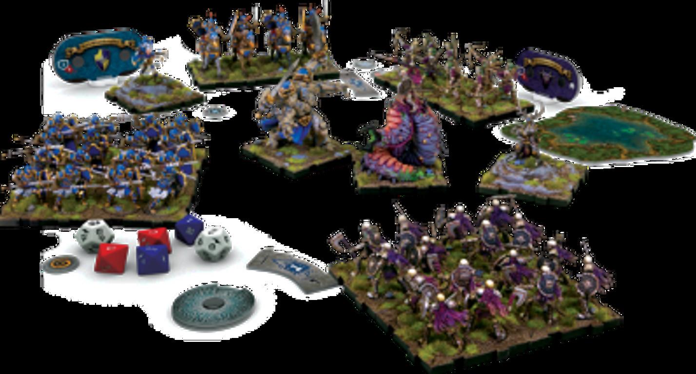 Runewars Miniatures Game components
