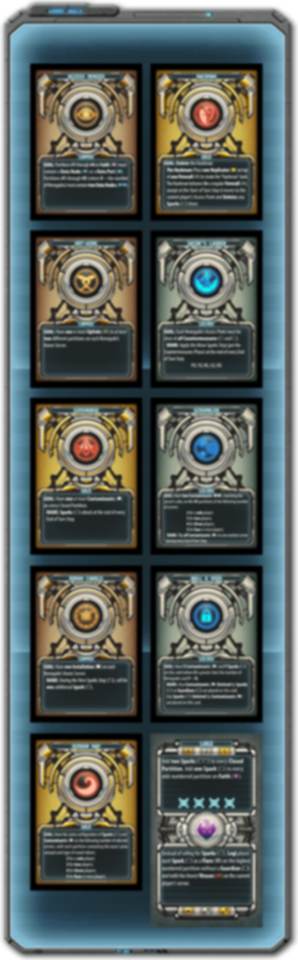 Renegade: Booster Pack 2 - Fire & Chaos cards
