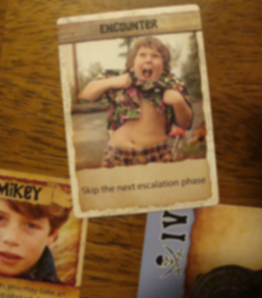 The Goonies: Adventure Card Game cards