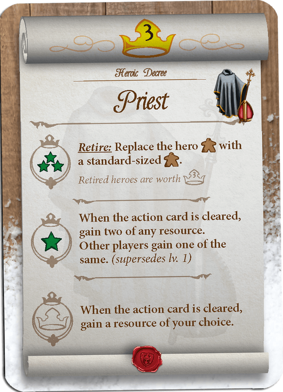 Tiny Epic Kingdoms: Heroes' Call Priest card